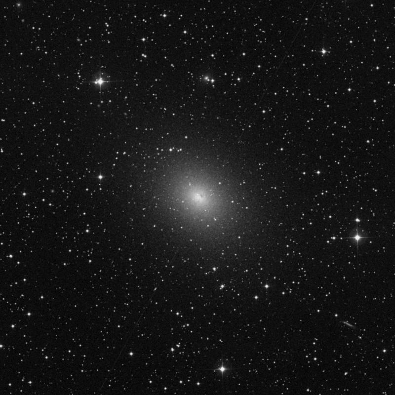 Image of NGC 185 - Elliptical Galaxy in Cassiopeia star