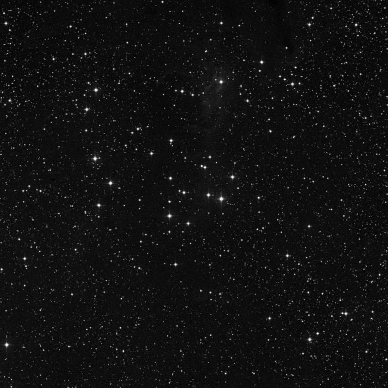 Image of NGC 225 - Open Cluster in Cassiopeia star