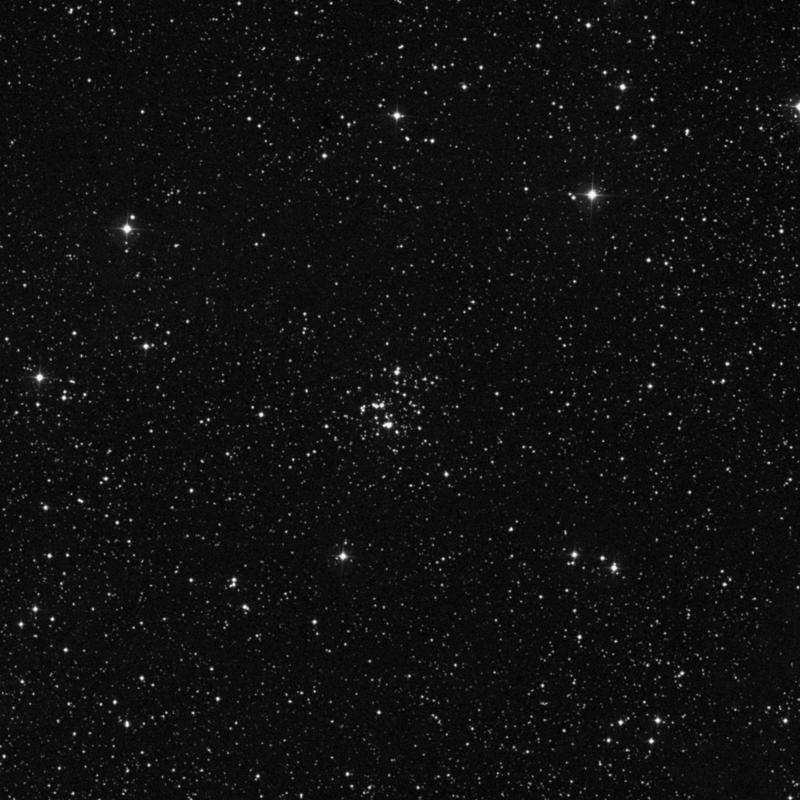 Image of NGC 366 - Open Cluster in Cassiopeia star