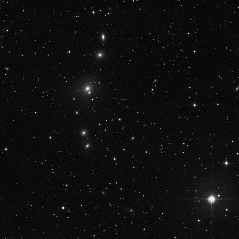 Image of NGC 375 - Elliptical Galaxy in Pisces star