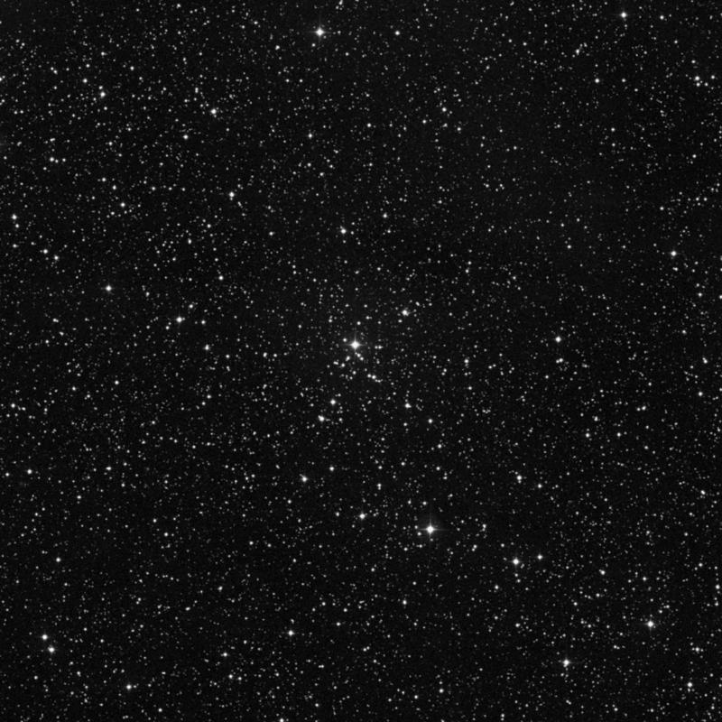 Image of NGC 433 - Open Cluster in Cassiopeia star