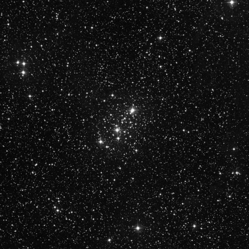 Image of Messier 103 - Open Cluster in Cassiopeia star