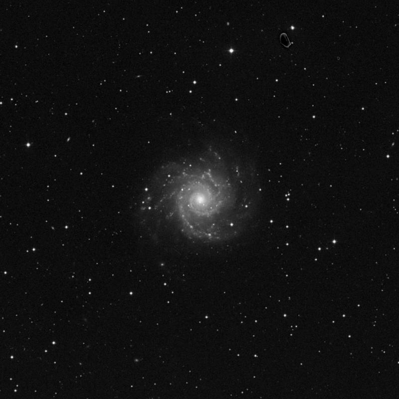 Image of Messier 74 - Spiral Galaxy in Pisces star