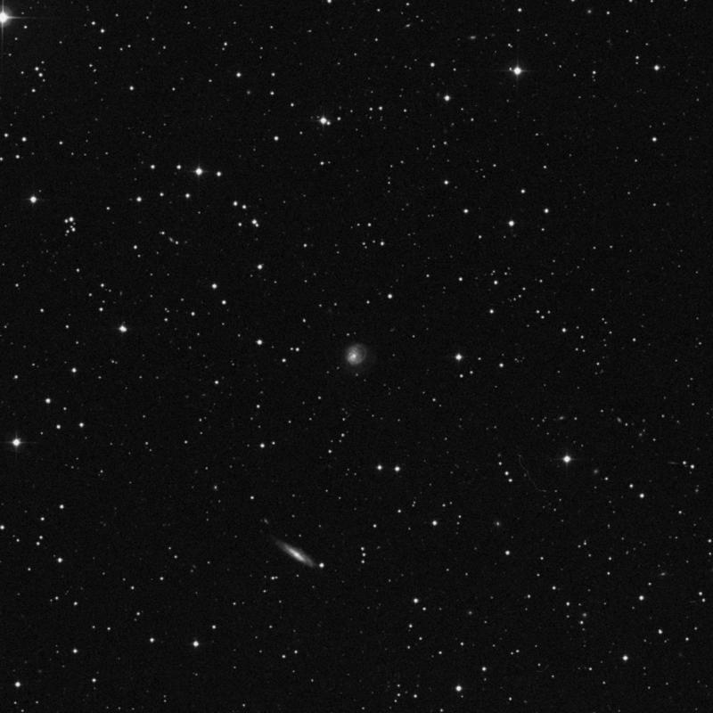 Image of NGC 579 - Spiral Galaxy in Triangulum star