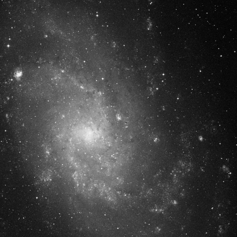 Image of NGC 595 - HII Ionized region in Triangulum star