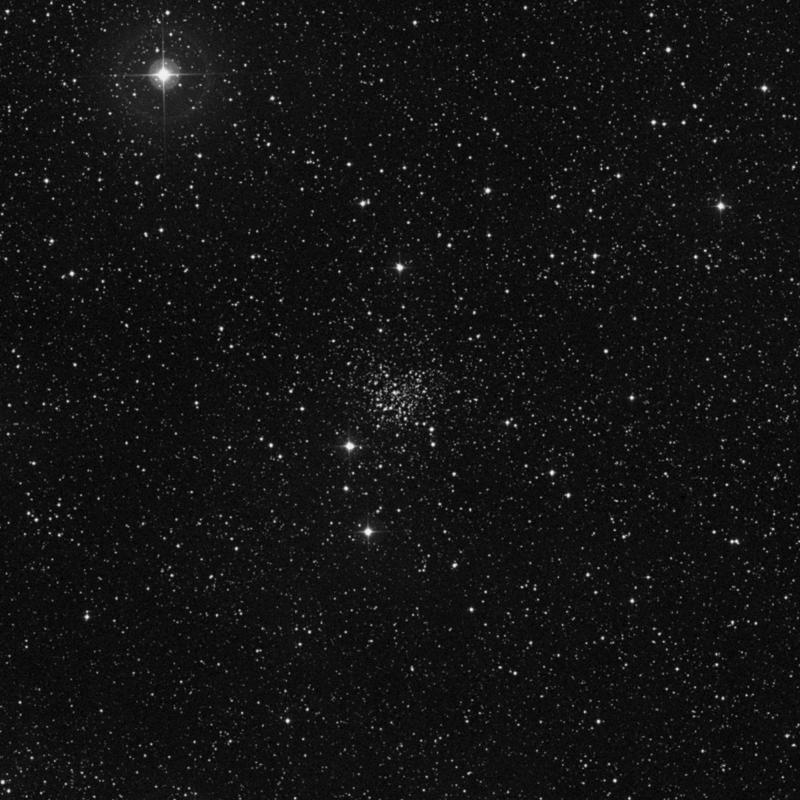 Image of NGC 609 - Open Cluster in Cassiopeia star