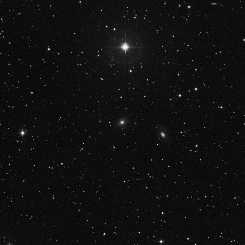Image of NGC 614 - Lenticular Galaxy in Triangulum star
