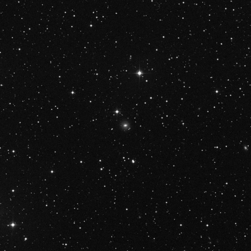 Image of NGC 621 - Lenticular Galaxy in Triangulum star
