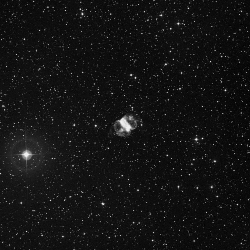 Image of Messier 76 (Little Dumbbell Nebula) - Planetary Nebula star