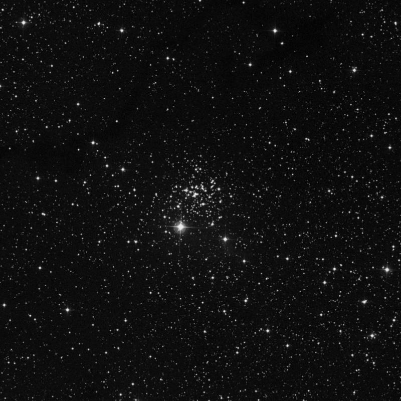 Image of NGC 654 - Open Cluster in Cassiopeia star
