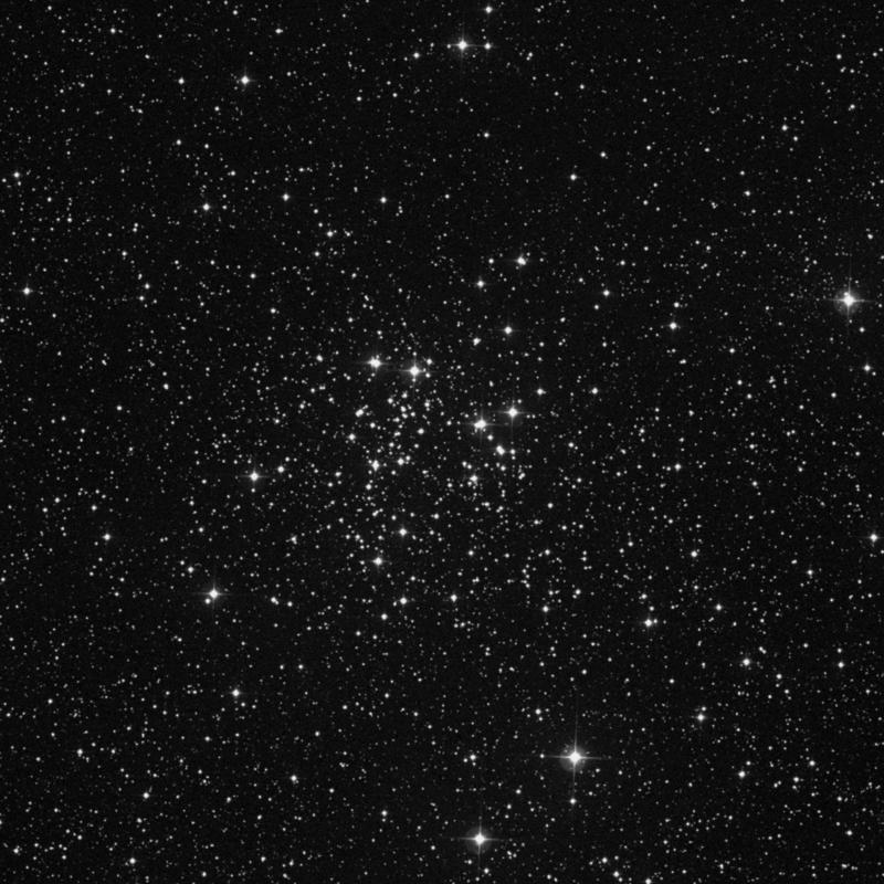 Image of NGC 663 - Open Cluster in Cassiopeia star