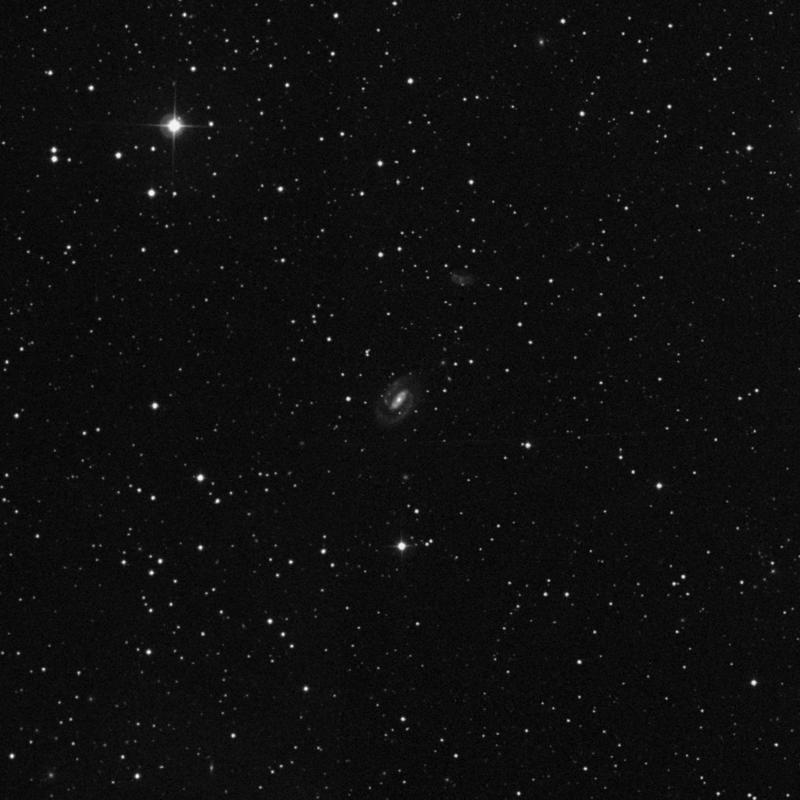 Image of NGC 688 - Spiral Galaxy in Triangulum star