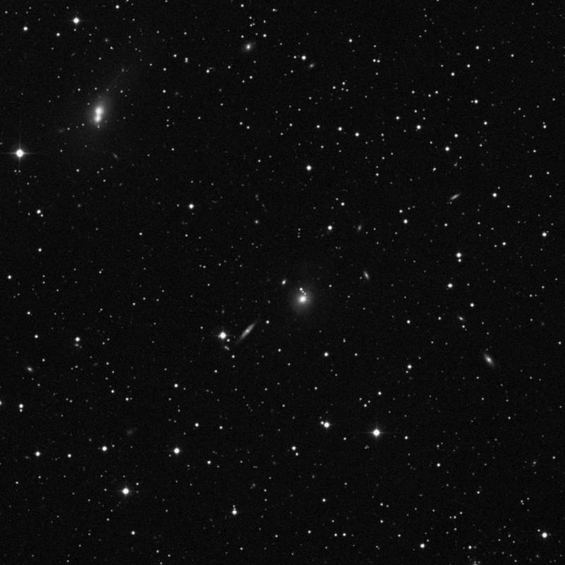 Image of NGC 738 - Lenticular Galaxy in Triangulum star