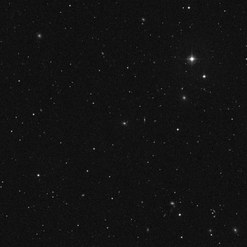 Image of IC 662 - Elliptical Galaxy in Leo star