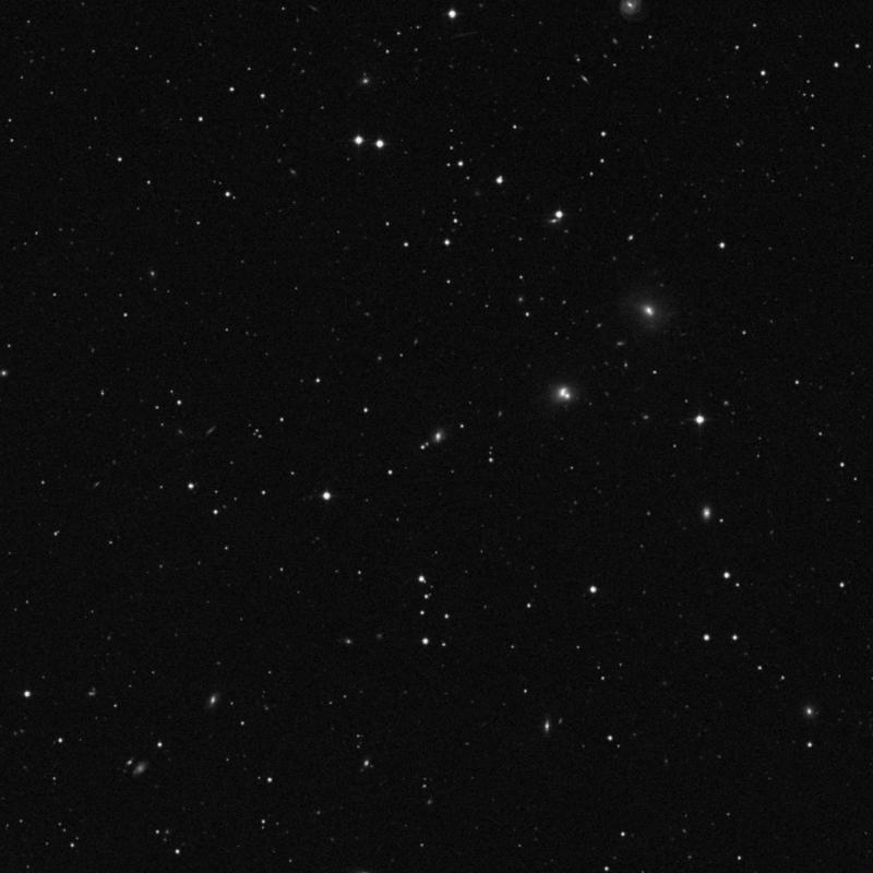 Image of IC 666 - Lenticular Galaxy in Leo star