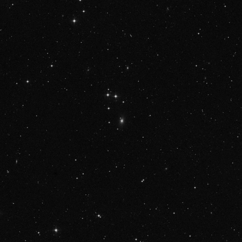 Image of IC 669 - Lenticular Galaxy in Leo star