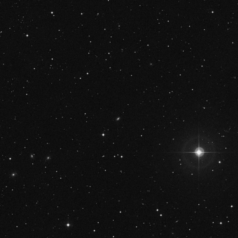 Image of IC 697 - Lenticular Galaxy in Leo star
