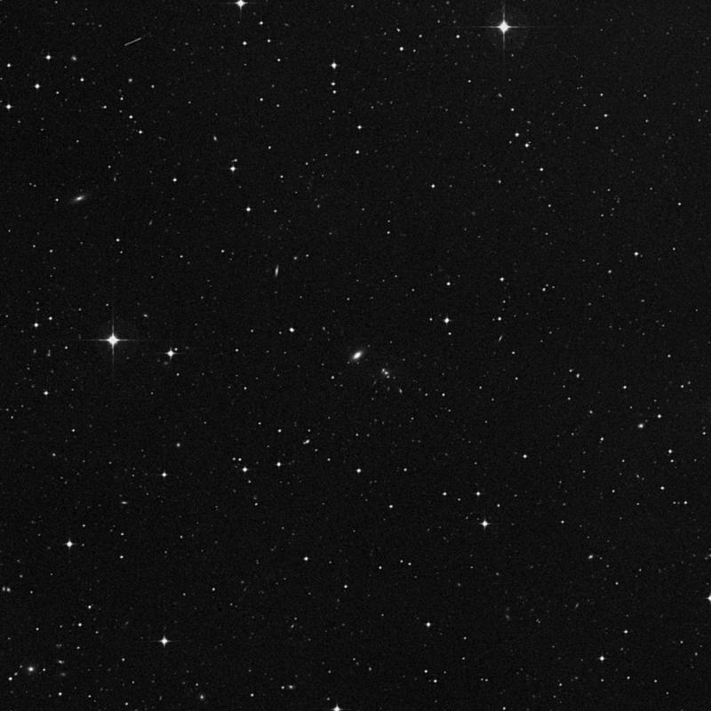 Image of IC 702 - Lenticular Galaxy in Leo star