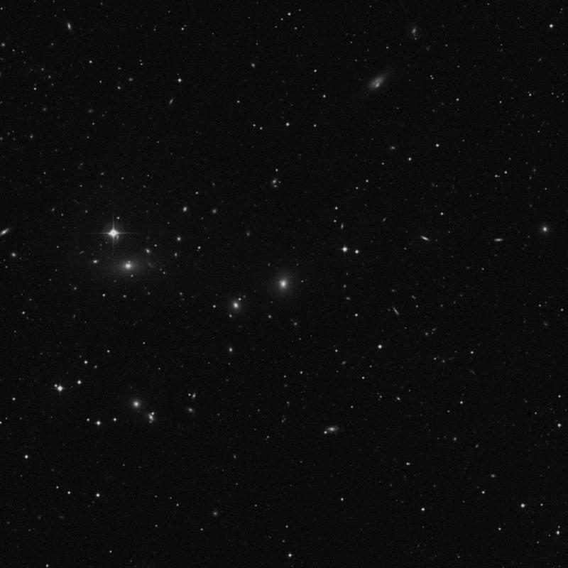 Image of IC 708 - Elliptical Galaxy in Ursa Major star