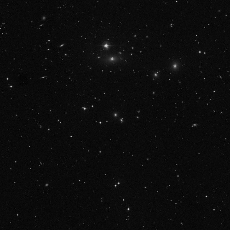 Image of IC 711 - Elliptical Galaxy in Ursa Major star