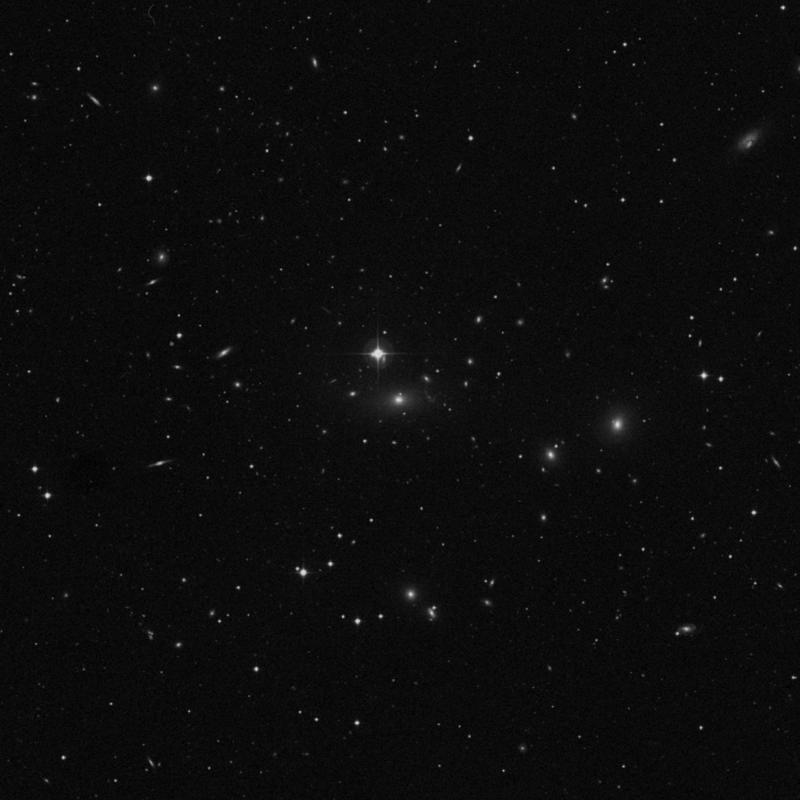 Image of IC 712 - Elliptical Galaxy in Ursa Major star