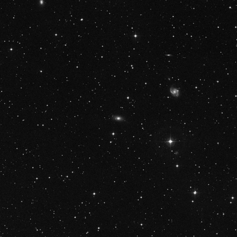 Image of NGC 785 - Elliptical Galaxy in Triangulum star