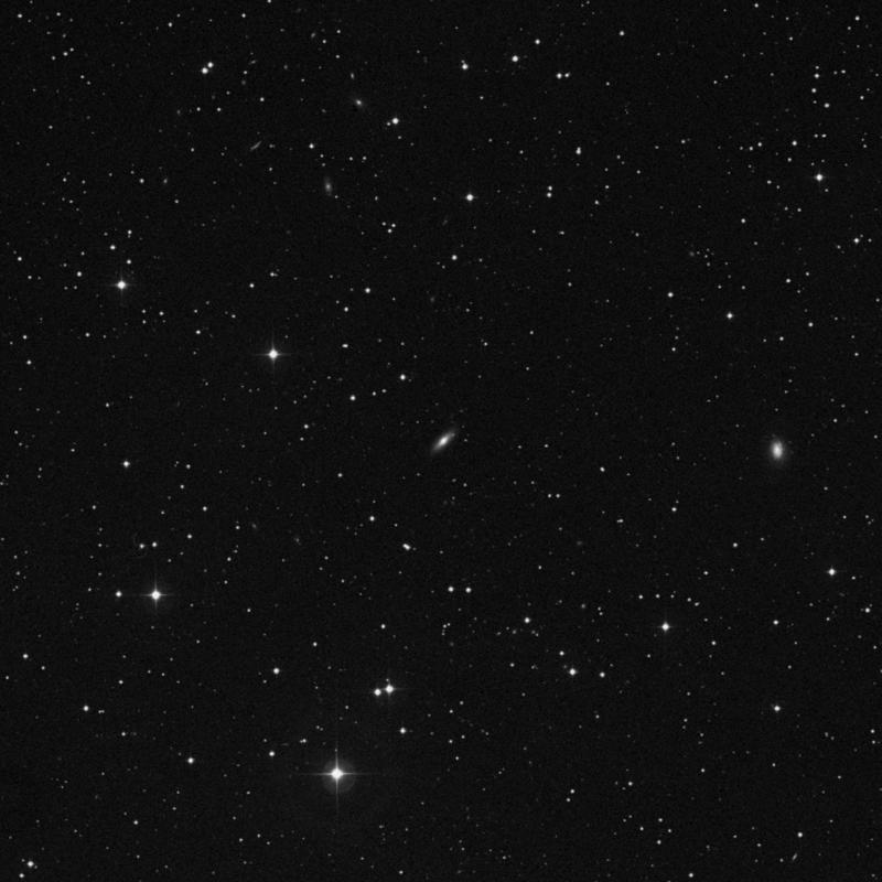 Image of NGC 798 - Elliptical Galaxy in Triangulum star
