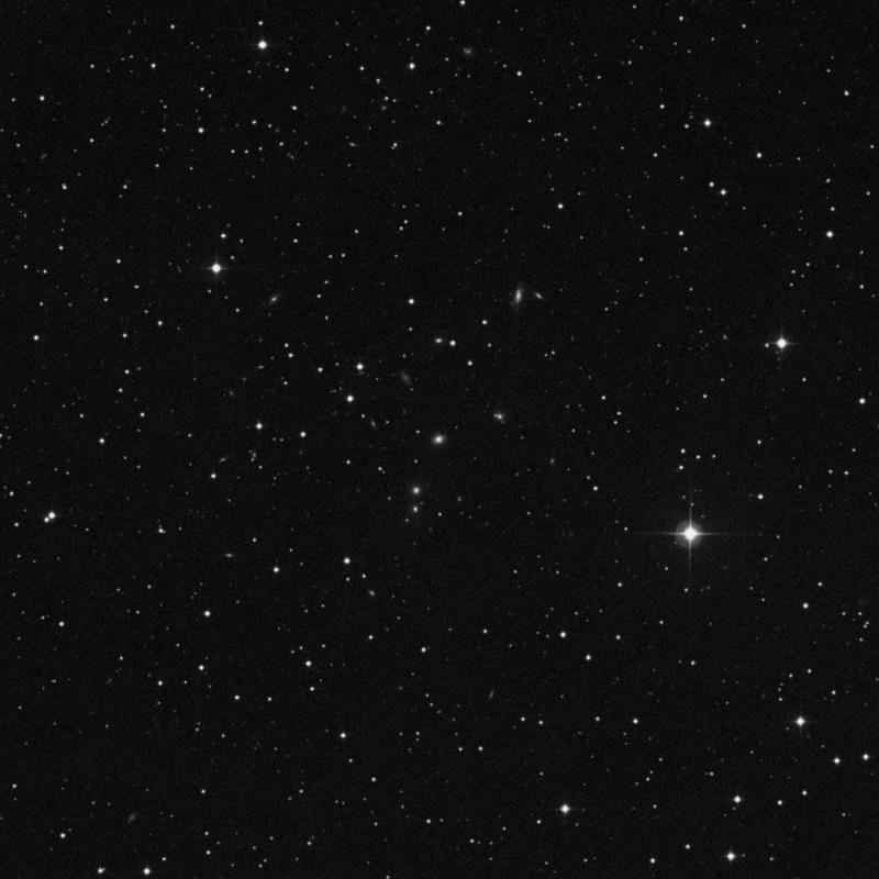 Image of NGC 860 - Elliptical Galaxy in Triangulum star