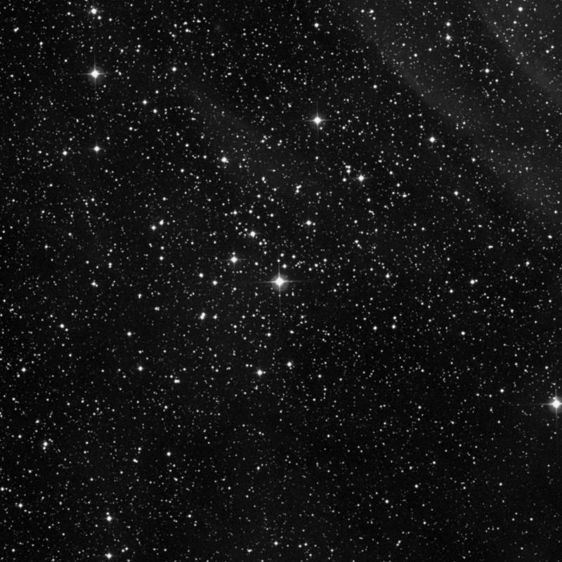 Image of NGC 1027 - Open Cluster in Cassiopeia star