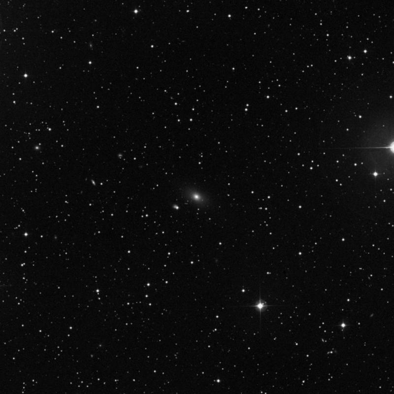 Image of NGC 968 - Elliptical Galaxy in Triangulum star