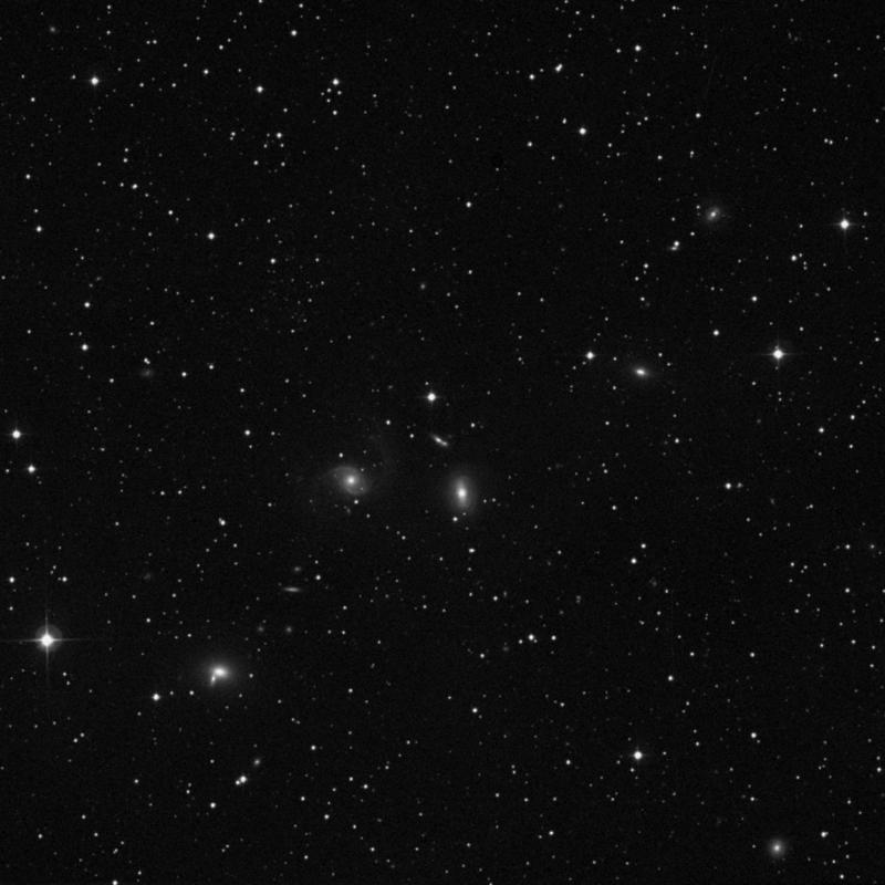 Image of NGC 970 - Galaxy Pair in Triangulum star