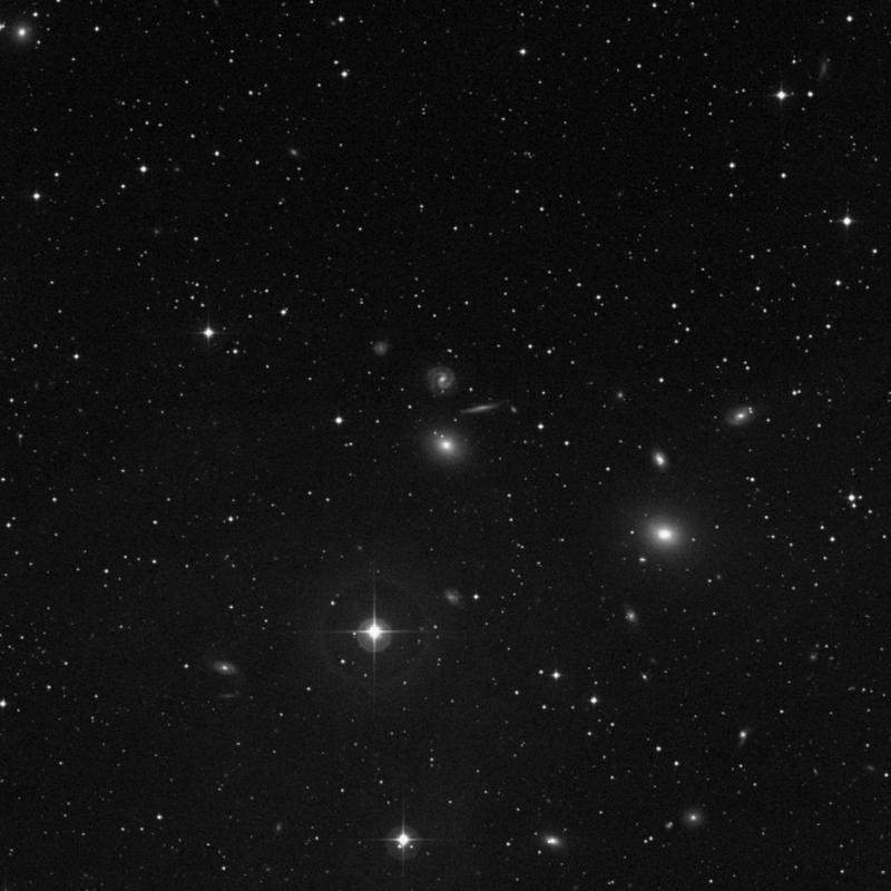 Image of NGC 1066 - Elliptical Galaxy in Triangulum star