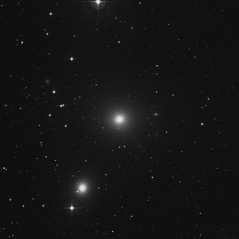 Image of NGC 1399 - Elliptical Galaxy in Fornax star