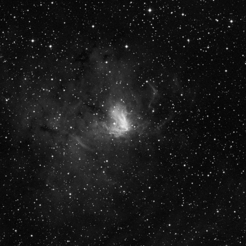 Image of NGC 1491 - HII Ionized region star