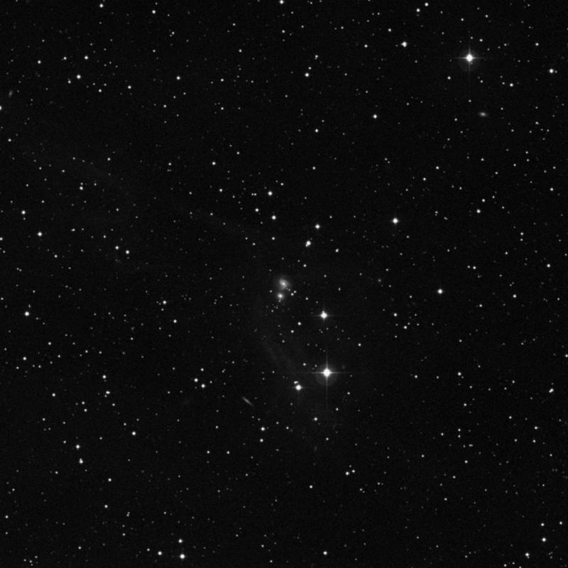 Image of NGC 1633 - Intermediate Spiral Galaxy in Taurus star