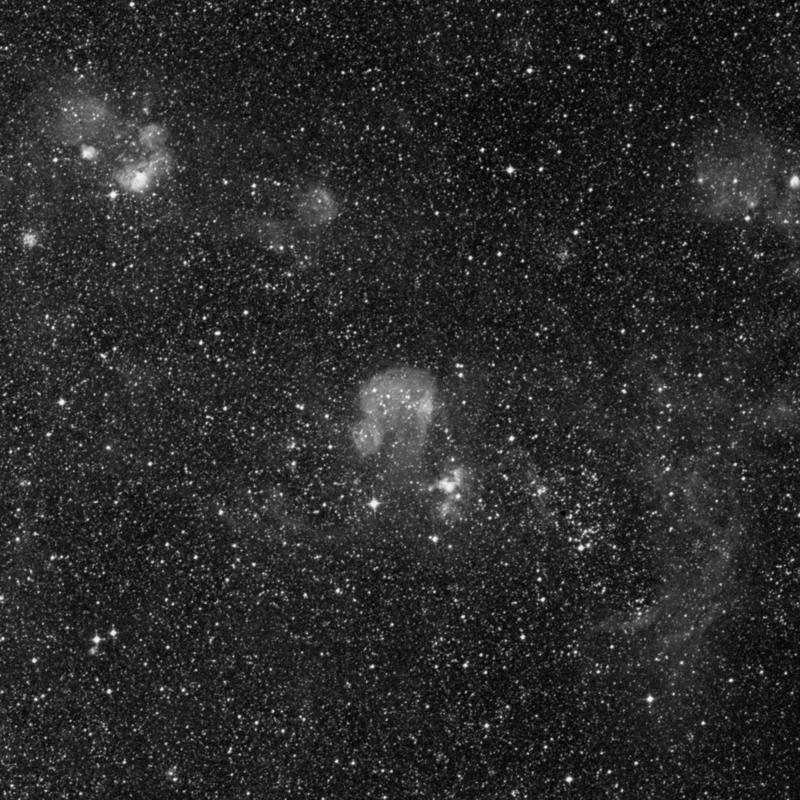 Image of NGC 1727 - Star Cluster + Nebula in Dorado star