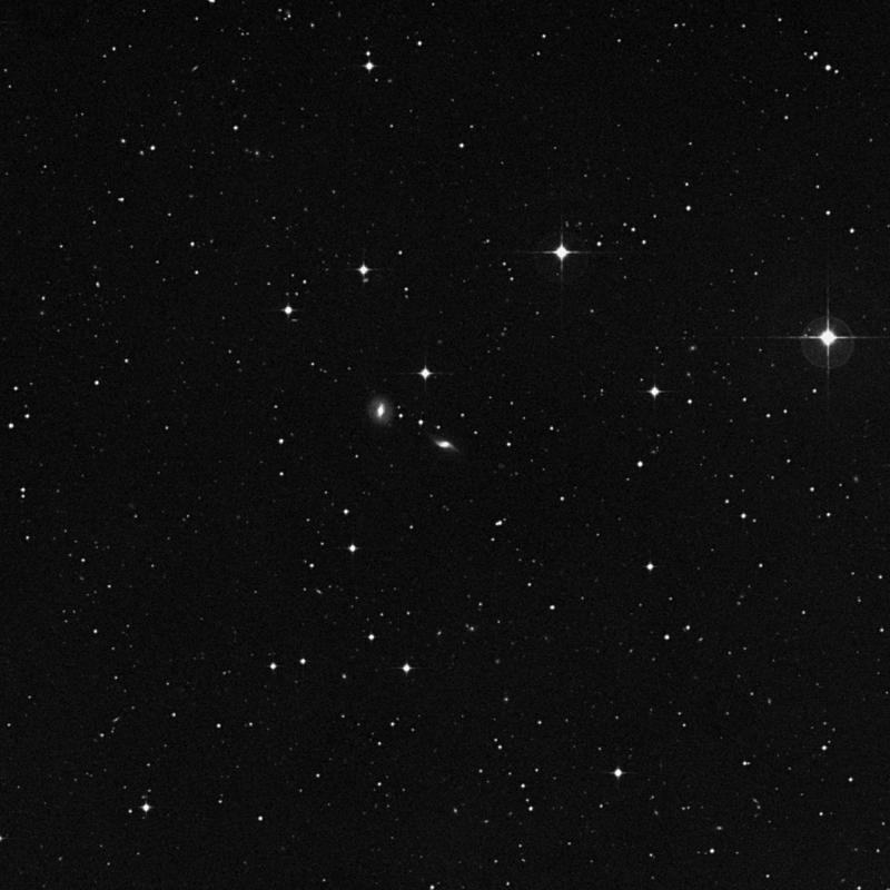 Image of IC 785 -  Galaxy in Corvus star