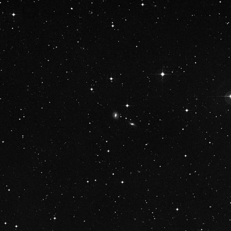 Image of IC 786 - Lenticular Galaxy in Corvus star
