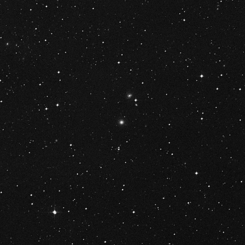Image of IC 807 - Elliptical/Spiral Galaxy in Corvus star