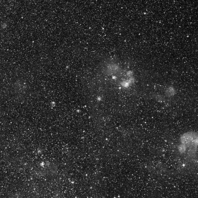 Image of NGC 1756 - Globular Cluster in Dorado star