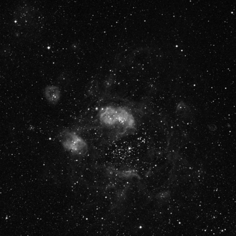 Image of NGC 1763 - Star Cluster + Nebula in Dorado star