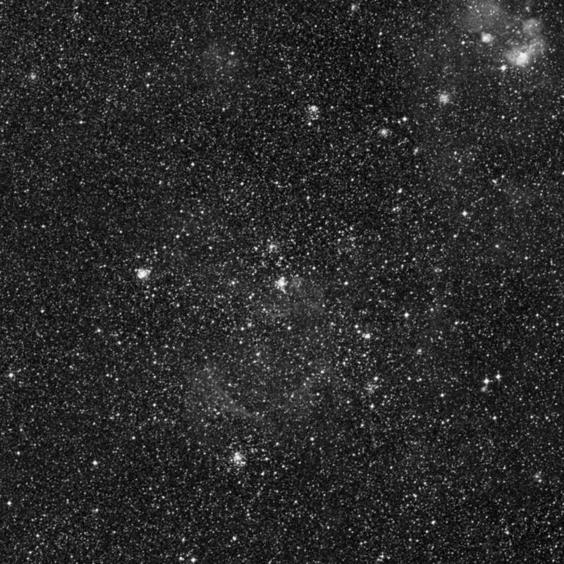 Image of NGC 1767 - Open Cluster in Dorado star