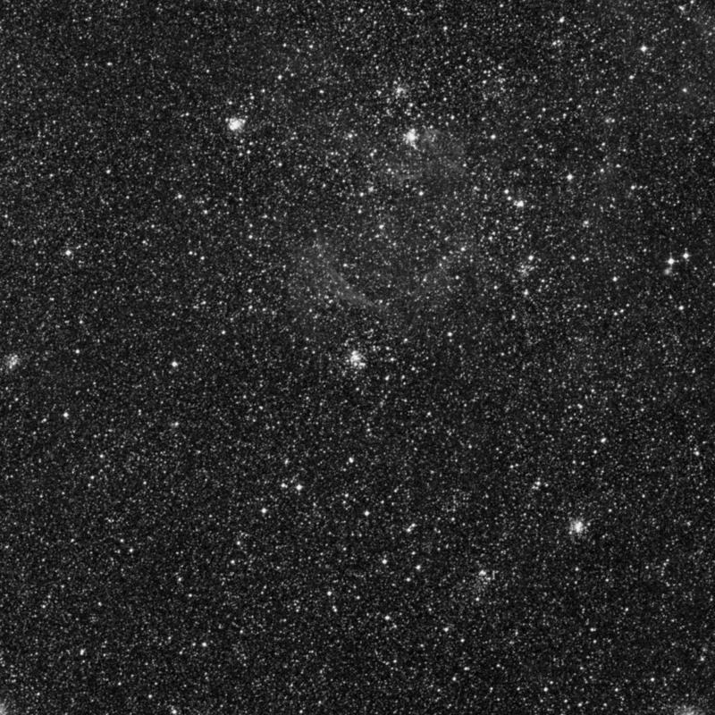 Image of NGC 1772 - Open Cluster in Dorado star