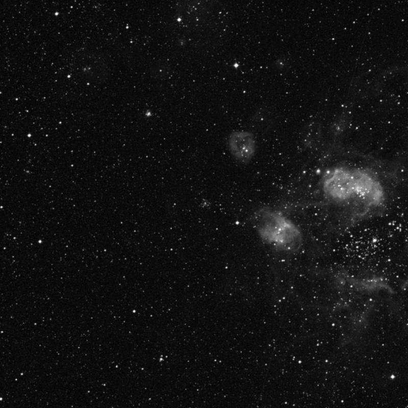 Image of NGC 1776 - Open Cluster in Dorado star
