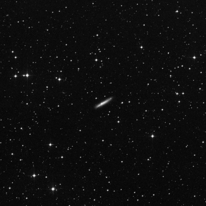 Image of NGC 1827 - Spiral Galaxy in Columba star