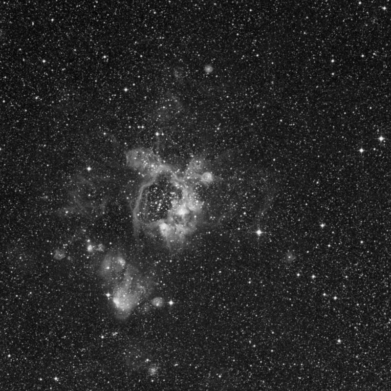Image of NGC 1934 - Star Cluster + Nebula in Dorado star
