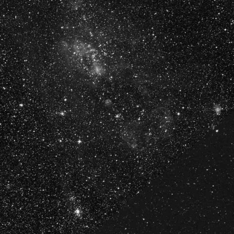 Image of NGC 1946 - Open Cluster in Dorado star