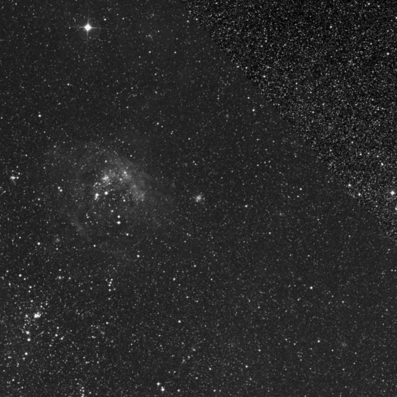 Image of NGC 1953 - Globular Cluster in Dorado star