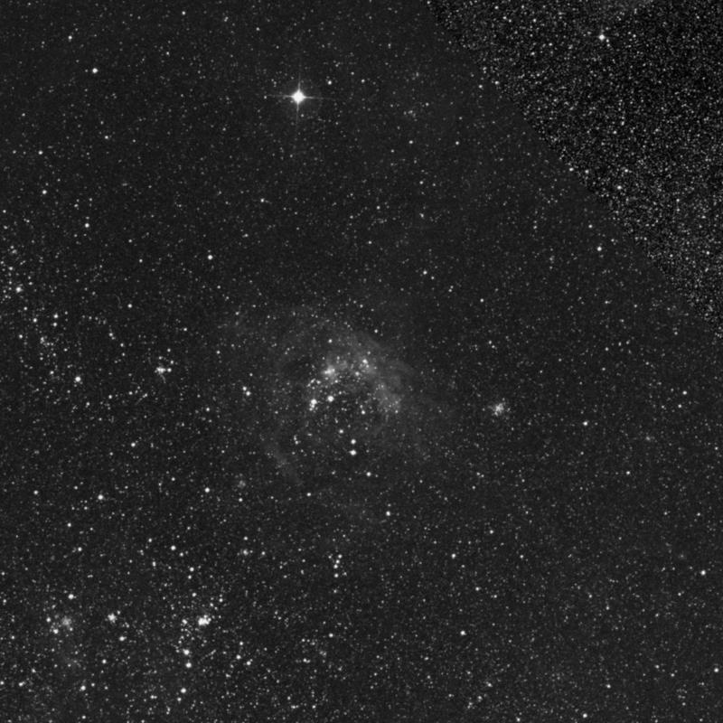Image of NGC 1965 - Open Cluster in Dorado star
