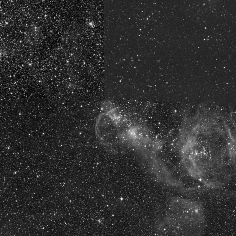 Image of NGC 1974 - Open Cluster in Dorado star